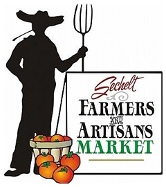 Sechelt Farmers' & Artisans' Market Begins It's 20th Season on the BC Sunshine Coast