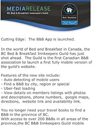 Cutting Edge - Mobile B&B App
