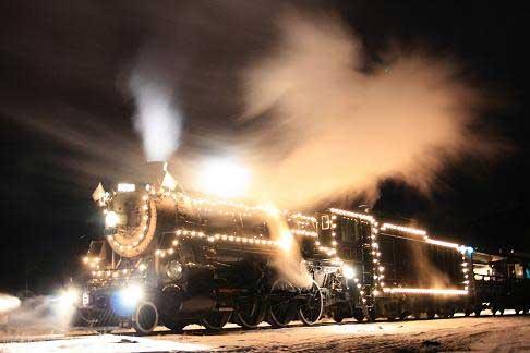 All Aboard the KVSR Christmas Train!