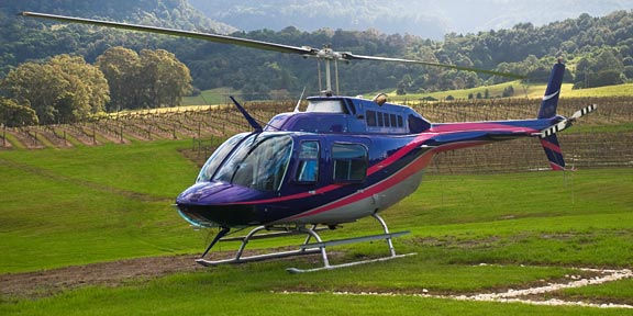 Take a Helicopter Wine Tour of BC!