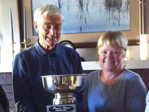 Graham and Lee Laxton are recipients of the Moyra Turner Hospitality Award 2014