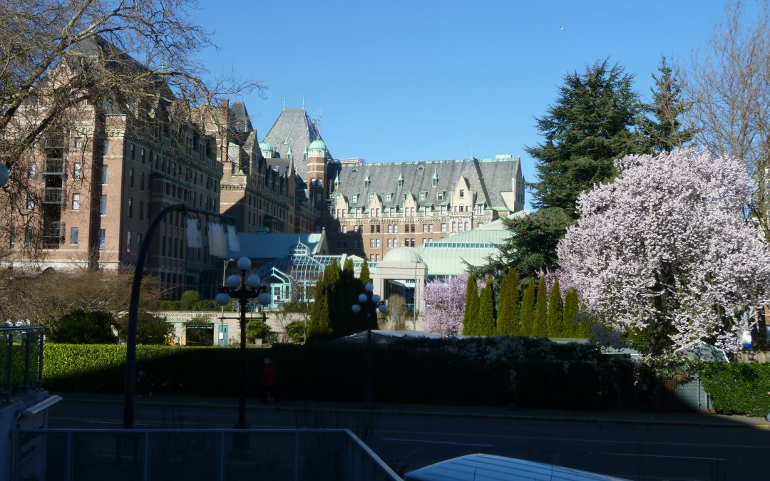 Spring has sprung in Victoria and Vancouver