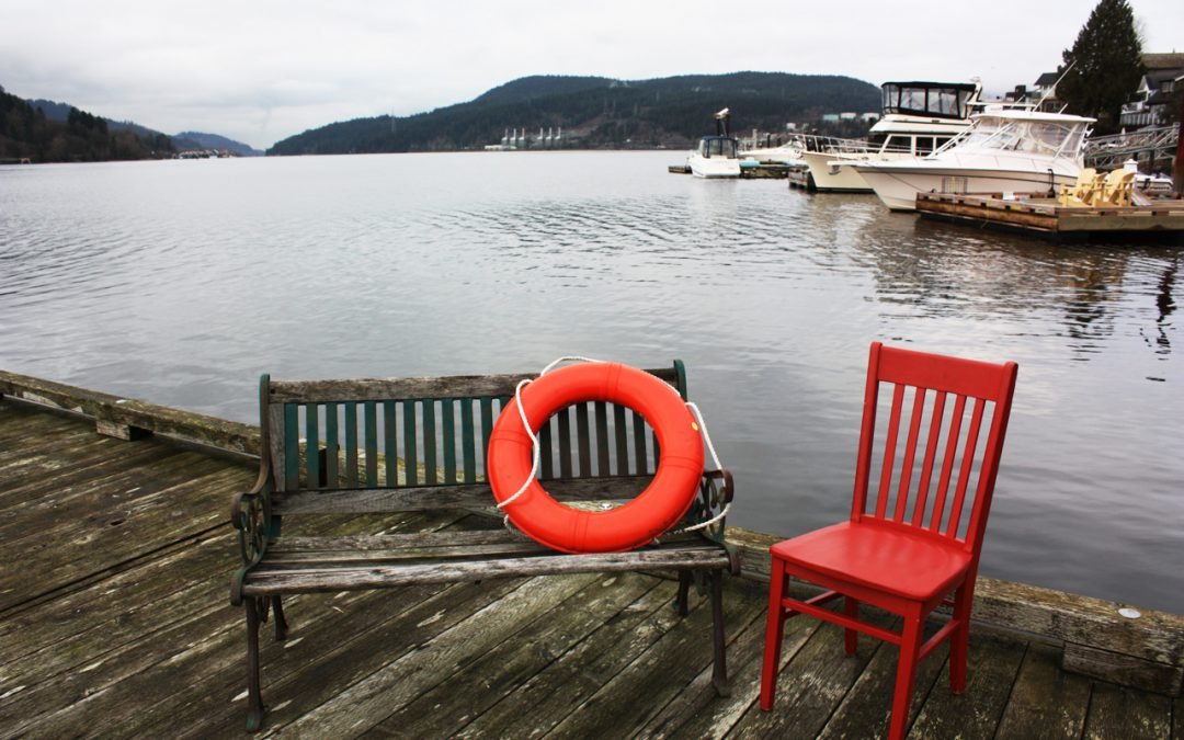 The Red Chair visits Port Moody and West Kelowna!