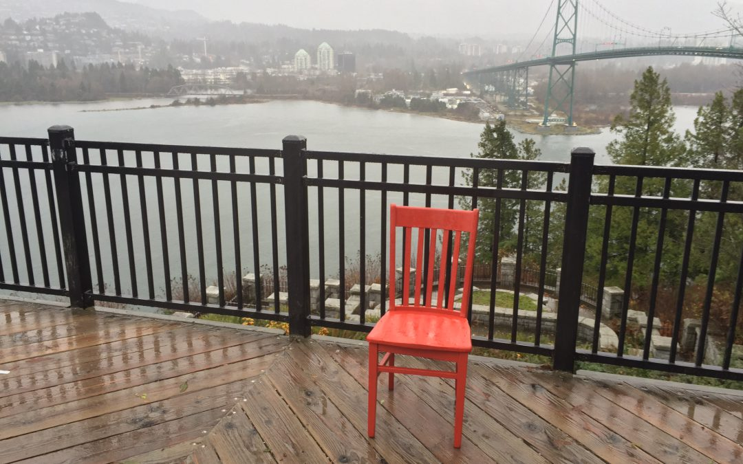 The Red Chair Has Arrived in BC!