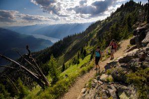 Fabulous views from a Kootenay hiking trail